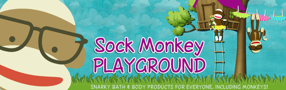 Sock Monkey Playground header